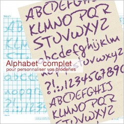 Alphabet à Broder