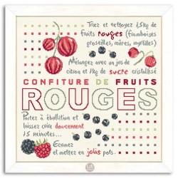 Confiture Fruits rouges