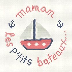 """Mini Kit """" Maman les p'tits bateaux"""""""