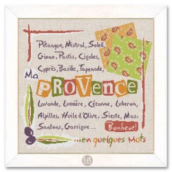 A few words about Provence