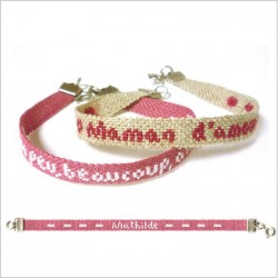 Bracelet rose (semi-kit)