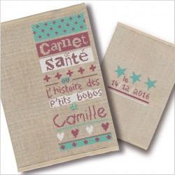"""Carnet de santé """"les p'tits Bobos"""" - semi Kit"""