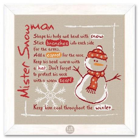 Mister Snowman