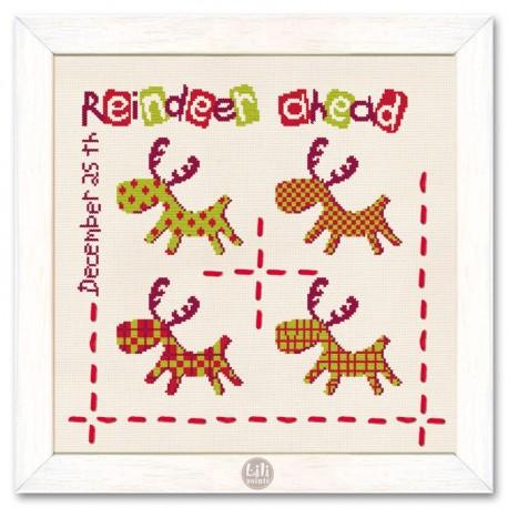 Reindeer ahead