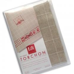 """Kit Torchon """"mains"""" (rouge)"""