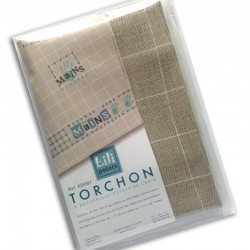 "Kit Torchon ""mains"" (bleu)"