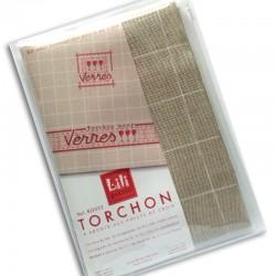 "Kit Torchon ""verres"" (rouge)"