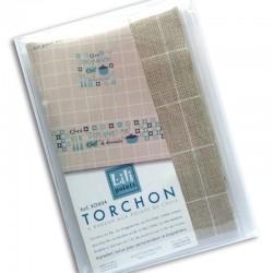 """Kit Torchon """"Chef"""" (bleu) en Kit"""