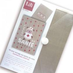 """Kit Carnet de santé """"ourson"""""""