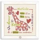 Naissance - La Girafe