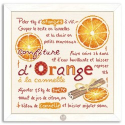 Confiture d'Orange à la Cannelle