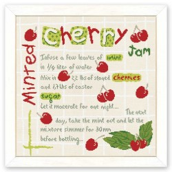 Minted Cherry Jam