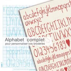 Alphabet à broder 2