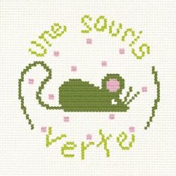 "Mini Kit ""Une souris verte"""